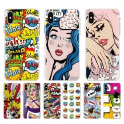 Coque iPhone Pop Art
