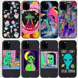 Coque iPhone Extraterrestre et ALien