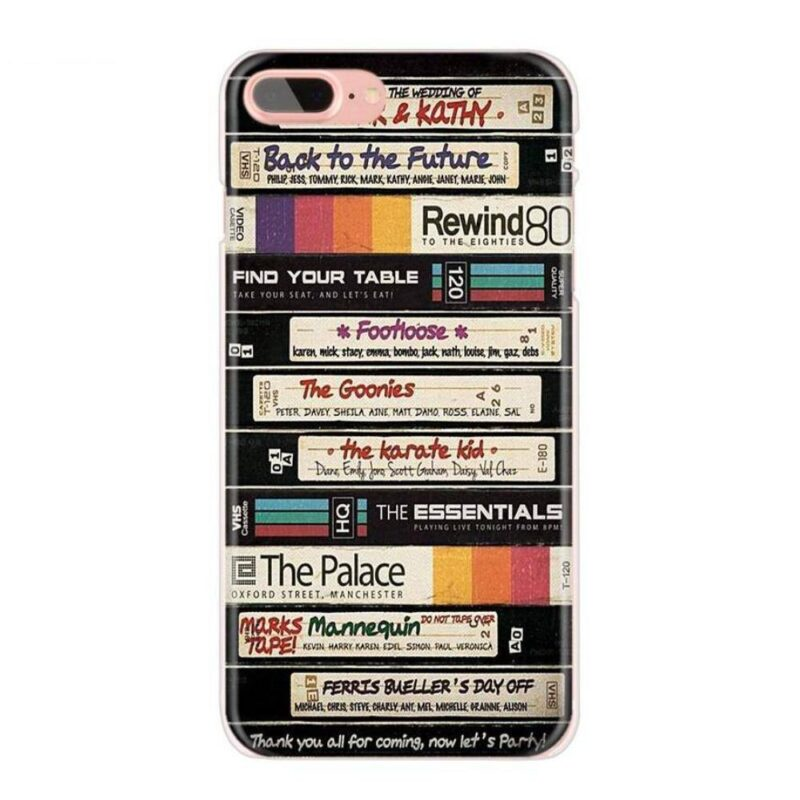 Coque iPhone Cassette