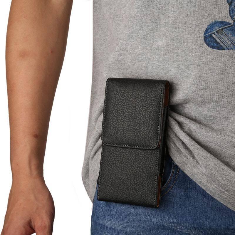 Etui cuir avec clip ceinture