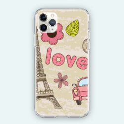 Coque iPhone Love Paris