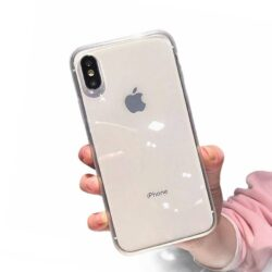 Coque iPhone transparente en Silicone