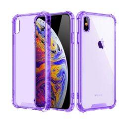 Coque iPhone transparente Mauve