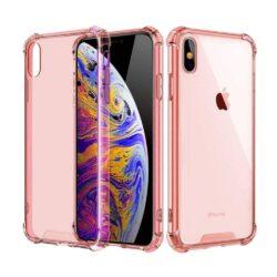 Coque iPhone Antichoc Rose