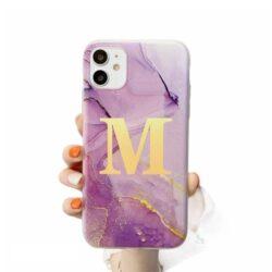 Coque iPhone personnalisée marbre