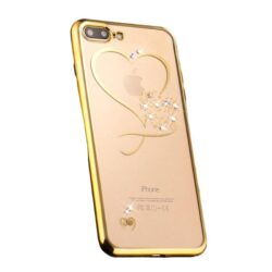 Coque iPhone Brillante Rose Gold