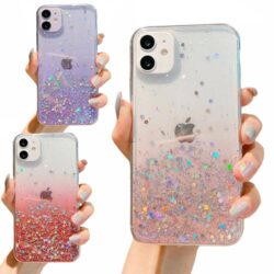Coque iPhone 12 Paillettes