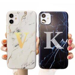 Coque iPhone 11 marbre