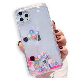 Coque iPhone XR transparente motif