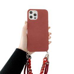 Coque iPhone bandoulière