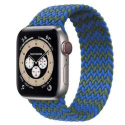 Bracelet pour Apple Watch tressé (Indigo)